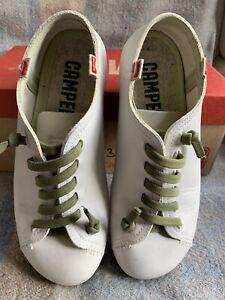 Camper Peu Calf Verd Shoes Once Worn Size Eur 37 Comfort Shoes