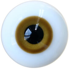 1 Pair 18mm Brown Eyes For LUTS DOD BJD Doll Dollfie Glass Eyes Outfit