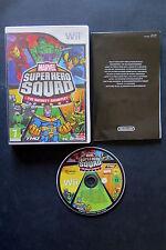 WII : MARVEL SUPER HERO SQUAD : THE INFINITY GAUNTLET - ITA ! Compatibile Wii U