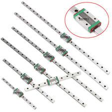 Mgn12h Linear Sliding Rail Miniature Guide Block Cnc 3d Printer Diy 250 550mm