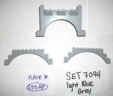 2x12x6 Light Blue grey 1x12x3 Castle Arch 30272 6108 4 LEGO SET 7094 10176 8781