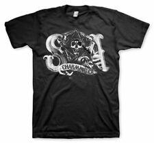 Licensed Sons of Anarchy Charming Reaper BIG & TALL 3XL, 4XL, 5XL Men's T-Shirt