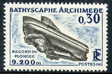 STAMP / TIMBRE FRANCE NEUF LUXE °° N° 1368 ** bathyscaphe archimede