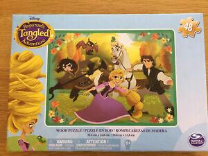 Disney Rapunzel's Tangled Adventure 48 Piece Wooden Puzzle 30.4cm X 22.8cm