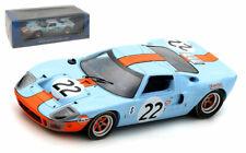 Spark 43SE69 Ford GT40 #22 Winner 12H Sebring 1969 - Ickx/Oliver 1/43 Scale