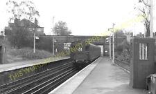 West Wickham Railway Station Photo. Hayes - Eden Park. Elmer's End Line. (1)