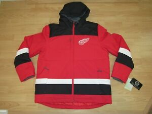 Detroit Red Wings G-III Power Play Team Parka Coat Jacket size Men's XL