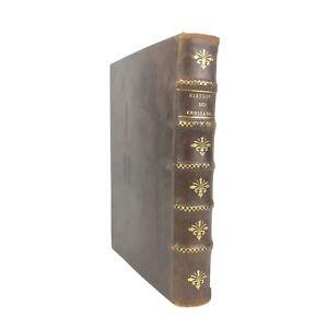 Édition Originale HISTOIRE DES CROISADES 1675 Louis Maimbourg