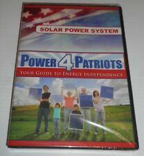 Power4Patriots Your Guide To Energy Independence DVD Solar Power System