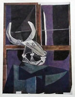 PICASSO LITHO PRINT w/COA. Exclusive 1946 $ Vintage Pablo Picasso Print RARE ART