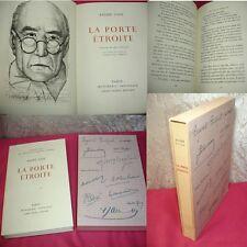 LA PORTE ÉTROITE  André Gide Eau forte originale de Pierre Yves Trémois