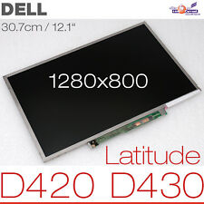 "30.7cm 12.1"" Wide WXGA LCD Toshiba ltd121exed DISPLAY DELL LATITUDE d420 d430 OK"