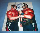 Road Warrior Animal Joe Laurinaitis Signed Autographed 8x10 Photo WWF B
