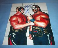 Road Warrior Animal Joe Laurinaitis Signed Autographed 8x10 Photo WWF B