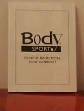Body Sport Total Body Exercise Ideas Resistance BAND Workout Poster BDSRBW New