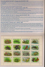 CHRISTMAS ISLAND :1987 Wildlife -sheetlet in P.Pack  SG229a unm mint