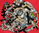 2600 Aluminum Pull Tabs Soda, Monster Energy, Beer Cans; Silver & Multicolor