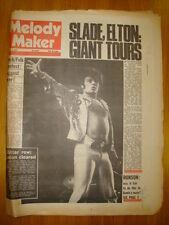 MELODY MAKER 1974 MAR 2 SLADE GARY GLITTER MICK RONSON
