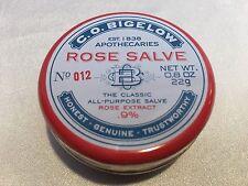 1 BATH & BODY WORKS CO BIGELOW ROSE SALVE LIP BALM CHAPSTICK GLOSS FACE CUTICLES