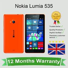 Unlocked Nokia Lumia 535 Dual SIM Microsoft Windows Phone - 8GB Orange