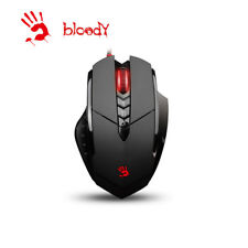 New  A4Tech Bloody V7M  LED Gaming Mouse 3200 DPI Adjustable DPI