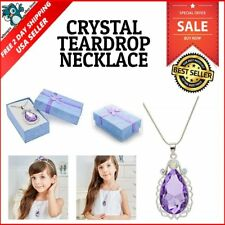 Disney Sofia The First Amulet Inspired Necklace Sparkle Bridesmaid Jewelry Gift