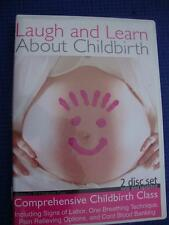 Laugh and Learn - About Childbirth (DVD, 2007, 2-Disc Set) DVD