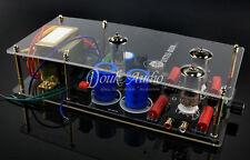6N3+6Z4 ValveTube Pre-AMP Class A Audio Stereo Preamplifier DIY with Transformer