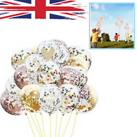 "10pcs 12"" Confetti Latex Balloons Wedding Birthday Party Baby Shower Balloon"