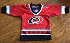 New Vintage Retro CCM Carolina Hurricanes Jersey NHL Hockey Toddler Infant
