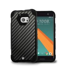 Beyond Cell Shell Case Hyber 2 For HTC 10   One M10 Carbon Fiber Black
