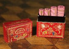 RARE Antique Regency Packaged Needle Preserver Gilded Box Brown Davis Halse 1840