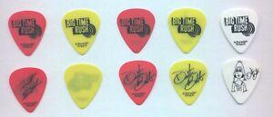 Big Time Rush - Set of 5 Guitar Picks  (2012) Free Shipping