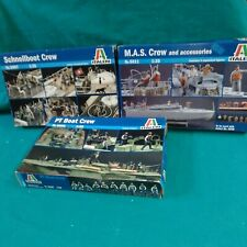 ITALERI SCHNELLBOAT M.A.S PT  CREW N 5606/5607/5611 1/35 scale  LIKE NEW! OVP