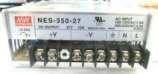 Power Supplies MW NES-350-27