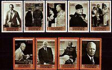 Fujeira 1969 ** Mi.365/73 A Dwight D. Eisenhower Politiker Politician