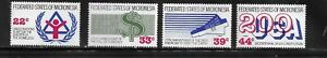 HICK GIRL- MINT U.S. POSSESSION-MICRONESIA   SC#56,C28-30  1987  ISSUE   N1119