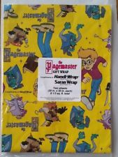 1994 The Pagemaster Gift Wrap Handi-Wrap Advertising