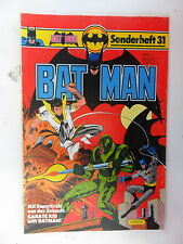 1 x Comic  Batman Sonderheft   Nr. 31      Zustand 2