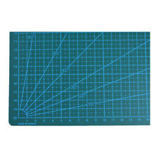 A4 Non Slip Printed Grid Double Sided PVC Self-Healing Cutting Mat- 3-Layer