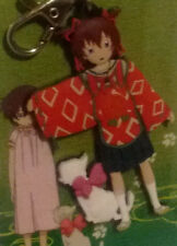 KAMICHU! KEY RING: YURIE HITOTSUBASHI SHRINE MAIDEN and her cat TOMA