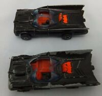 Vintage 1976 Batman DC Comics Corgi Juniors Batmobile Cars Collectable x 2