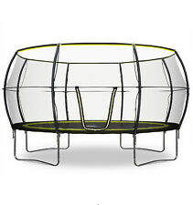 Rebo 14FT Base Jump Trampoline With Halo II Enclosure