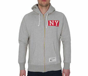Majestic Athletic Mens Hoody Grey MLB New York Yankees Hoodie Casual Fashion