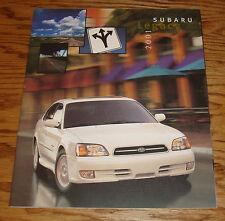 Original 2001 Subaru Legacy Deluxe Sales Brochure 01