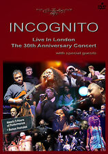 INCOGNITO New Sealed 2017 30th ANNIVERSARY LIVE CONCERT 2 DVD SET