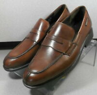 FORTINO BROWN MMSP70 Men's Shoes Size 8.5 EUR 8 Leather Slip On  Mephisto