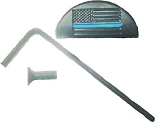 Slug Plug fits Glock Thin Blue Line, JP-9,Backstrap,Gen 4, Mod 17,18,19,22,23,24