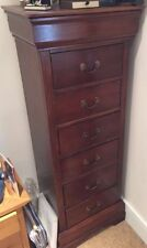 Mahogany Bedroom Less than 30 cm Width Chests of Drawers