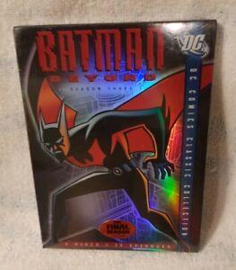 Batman Beyond - Season Three 3 (DVD, 2007, 2-Disc Set) New Sealed in case